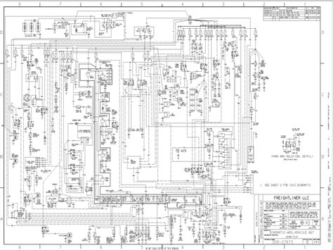 Wiring Diagram For Freightliner Columbia 2007 The Within