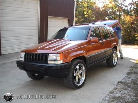 Jeep Grand Laredo 95 1995 Jeep Grand Laredo Id 19797
