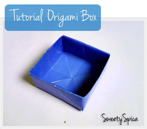 tutorial origami kotak tutorial origami box