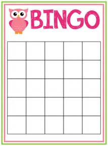 baby shower bingo cards template baby shower bingo cards