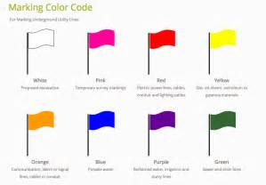 flag colors meaning what do those colored flags the texas811 org