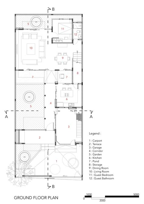 2828 ground floor plan gallery of sunter metro residence atelier cosmas gozali 14