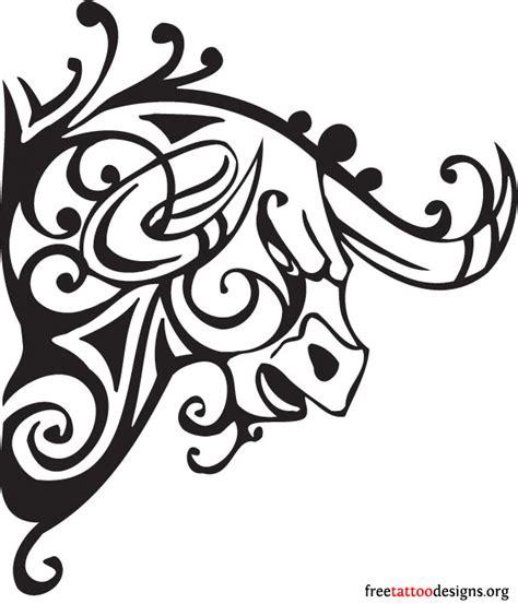 Bull Tattoo Art 50 Taurus Tattoos Bull Designs