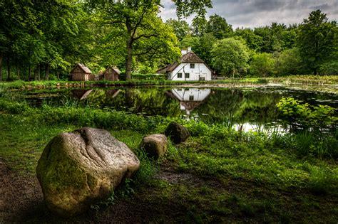haus yachthafenhöh grömitz fotos deutschland hammermill natur teich w 228 lder gras