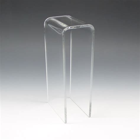 Display Pedestal Waterfall Acrylic Pedestal Displays Buy Bulk Displays