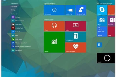 windows bureau virtuel windows 10 build 10041 bureau virtuel amlior et cortana