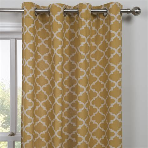 Moroccan Style Curtains Moroccan Single Panel Curtain