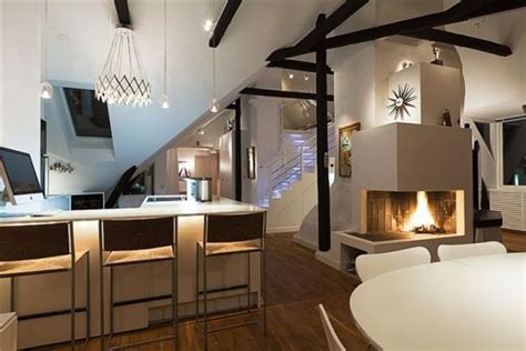 loft apartment ideas elegant swedish loft living ideas impress with exposed