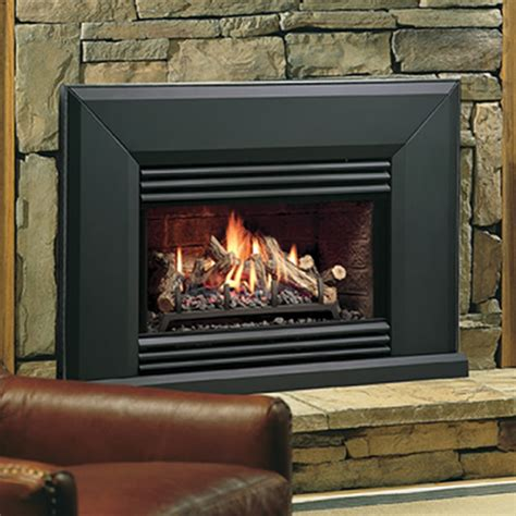 insert fireplace gas kingsman vfi25 vented gas fireplace insert