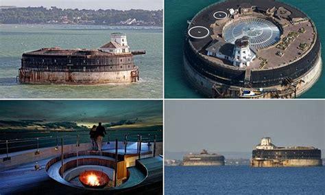 spend  night   mans land victorian sea fort