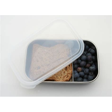 Set Sekat Silver glass lunch containers with dividers 10 pack 3 compartment meal prep food storage containers