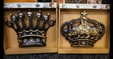 his and hers royal crowns from kirkland s give yourself