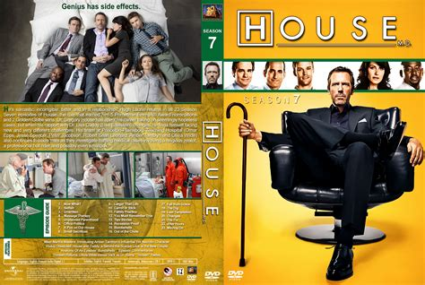 house season 7 music house m d season 7 dvd cover 2011 r1 custom