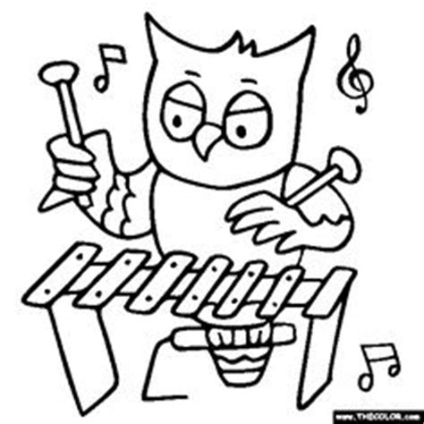 irish instruments coloring page kids colouring pages of irish musical instruments