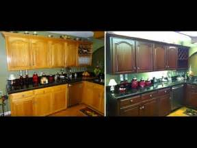 Change Color Of Kitchen Cabinets by How To Do It Yourself Kitchen Cabinet Color Change No