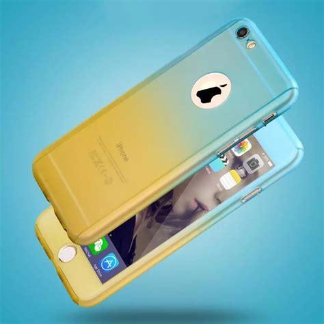 funda bi color   vidrio templado  iphone