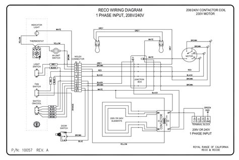electric range wiring diagram 208 electric range