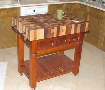 Handmade Butcher Block - handmade butcher block table by lonestar woodworks