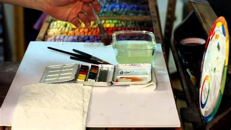 watercolor underpainting tutorial underpainting techniques on uart watercolor wash part