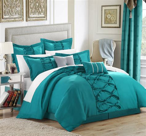 Teal Bed Set Image Gallery Teal Bedspread