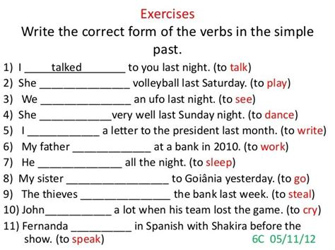 biography simple past exercise 47 best images about simple past on pinterest english