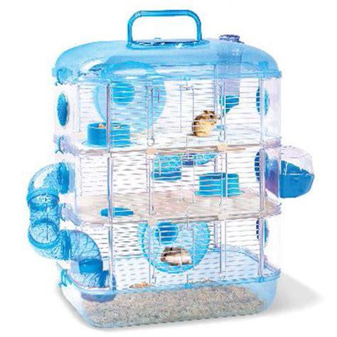 Jolly Eskimo House For Hamster jolly 3 storey hamster cage in blue www nekojam