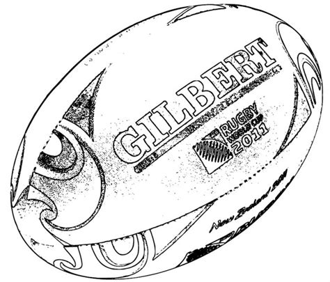 Coloriage A Imprimer Rugby Asm