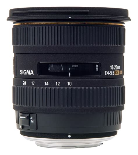 Sigma 20mm sigma 10 20mm f 3 5 ex dc hsm interchangeable lens review
