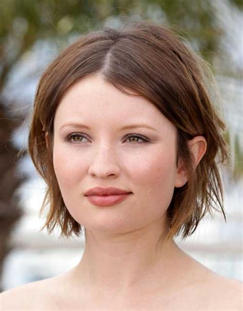 hairstyles for round face with straight hair short haircuts curly hair round face hairs picture gallery