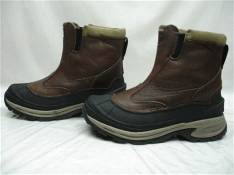 mens slip on duck boots mens ll bean slip on waterproof insulated winter duck