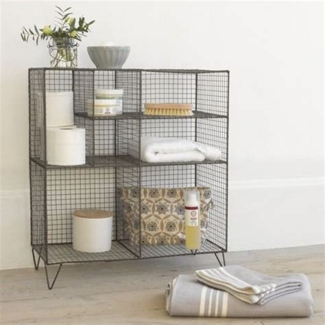 Wire Bathroom Shelving 25 Best Ideas About Wire Storage On Pinterest Wire Basket Wire Fruit Basket And Hanging Wire