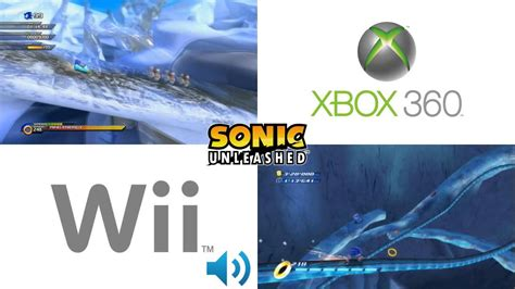 wii vs ps2 which has sonic unleashed cool edge wii vs 360