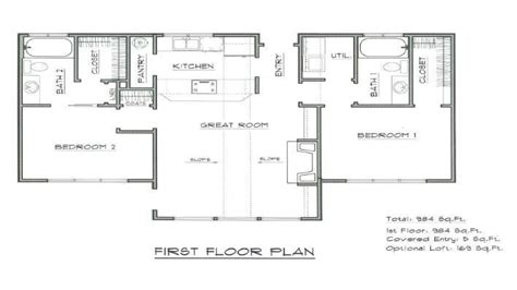 vacation floor plans mountain cabin plans vacation cabin house plan home