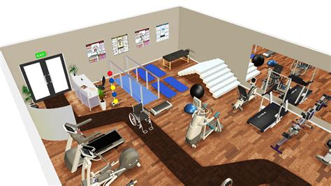 Design A Floor Plan Free by 3d Gym Design Mifitness