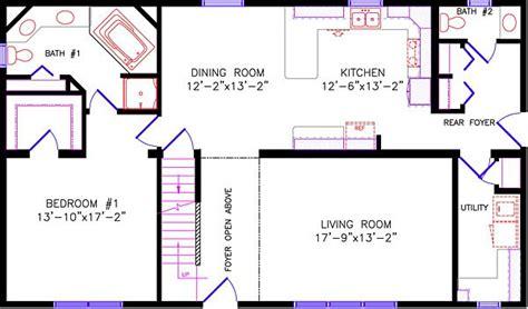 28x48 floor plans wisconsin homes cape cod oshkosh omro berlin wi