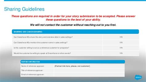 customer success story template for cloud alliance partners