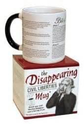 Disappearing Civil Liberties Mug by Cldc Merchandise Civil Liberties Defense Center