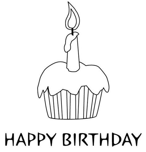 birthday cupcake coloring page coloring page birthday cupcake tier coloring pages