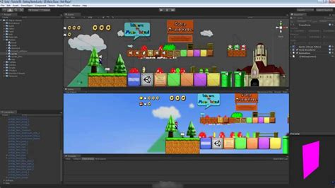 tutorial for unity unity 3d tutorial getting started with super mario