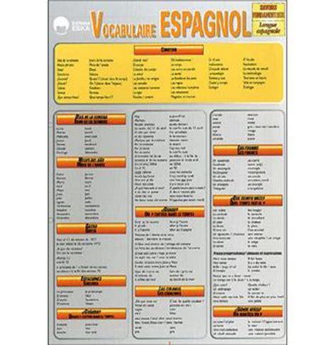 libro vocabulaire espagnol plus vocabulaire espagnol broch 233 st 233 phane oury achat livre achat prix fnac