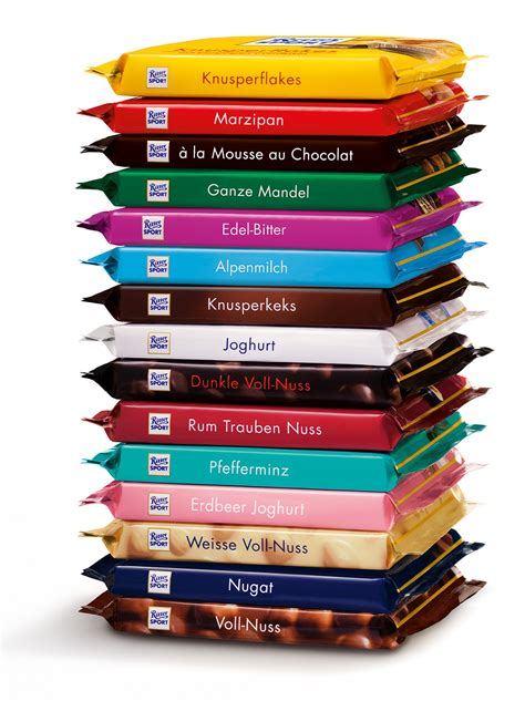 Cocolatte Isport the ritter sport quot knick pack quot