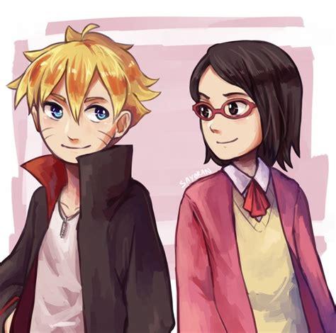 boruto and sarada naruto son and sasuke and sakuras daughter boruto uzumaki