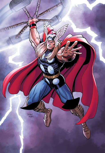 film thor cartoon thor marvel comics arthur adams has it covered with thor