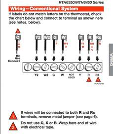 honeywell thermostat rth6350d wiring diagram honeywell wiring diagram free