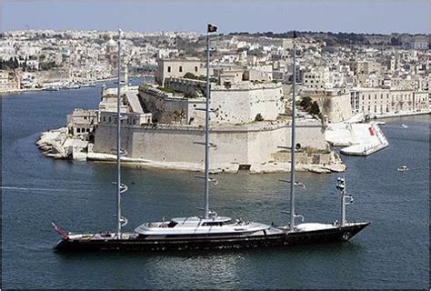 sailing from greece to malta maltese falcon third largest sailing yacht in the world