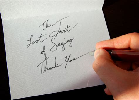 Thanking Someone For A Gift Card - the importance of writing a thank you note