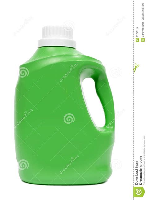 Green Laundry Detergent Bottle Royalty Free Stock Photo Green Laundry