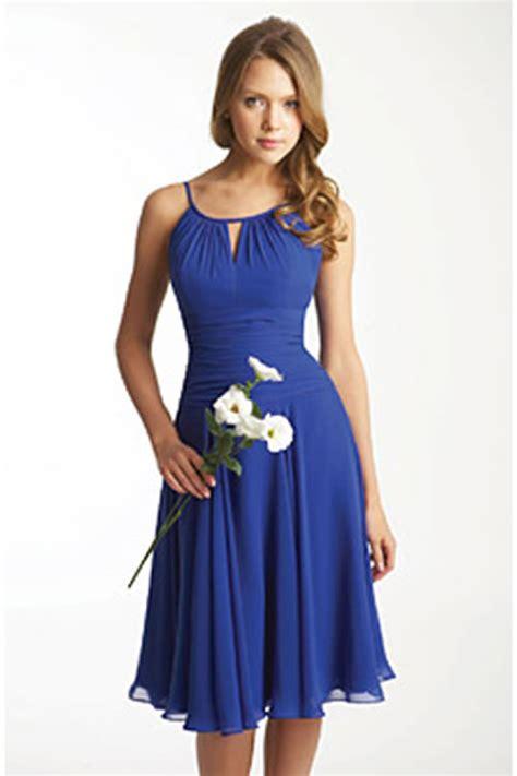 Blue short beach bridesmaid dress elite wedding looks