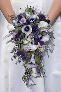 artificial wedding flowers beautiful scottish bridal wedding bouquet w picasso lilies and thistles ebay