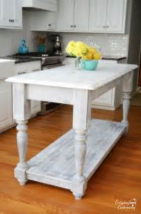 Kitchen Island Diy by Diy Furniture Style Kitchen Island